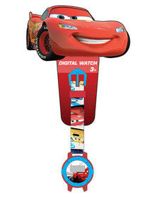Character Brands Cars Digital Watch Multi