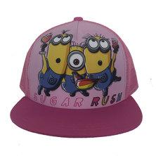 Character Brands Minions Flatbill Cap Pink