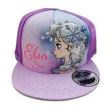 Character Brands Frozen Flatbill Cap Purple