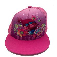 Character Brands Trolls Flatbill Cap Pink