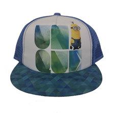 Character Brands Minions Flatbill Cap Blue