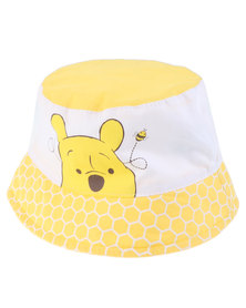 Character Brands Winnie The Pooh Bucket Hat Yellow