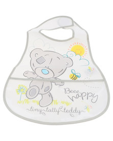 Character Brands Tiny Tatty Teddy Catcher Bibs White