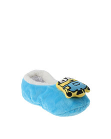 Character Brands Minions Sherpa Slippers Yellow