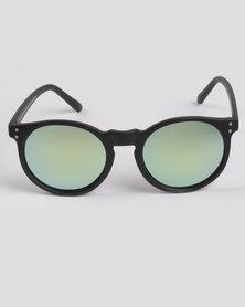 CHPO Mavericks Mirror Lens Sunglasses Black/Green Yellow
