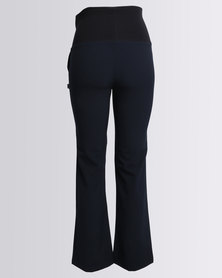 Cherry Melon Classic Leg Pants With Band Navy/Black