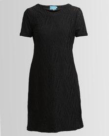 Chica-Loca Lace Tunic Slip Lace Black