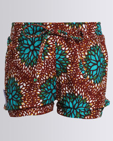 Chiumbo Printed Shorts Multi
