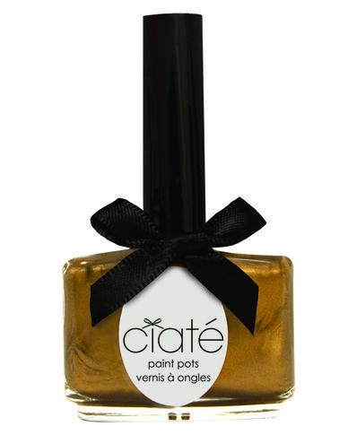 Ciaté Gold Digga Shimmer Nail Polish