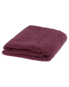 Colibri Towelling Great Value Universal Cotton Hand Towel Red