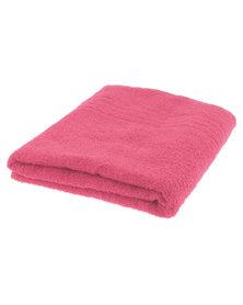 Colibri Towelling Galleon Pure Cotton Bath Towel 450GSM Pink