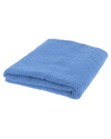 Colibri Towelling Galleon Pure Cotton Bath Towel 450GSM Blue
