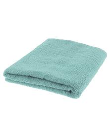 Colibri Towelling Galleon Pure Cotton Bath Sheet 450GSm Jade