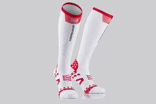 Compressport Ultralight Full Socks White