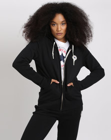 Converse Core Full Zip Hoodie Black