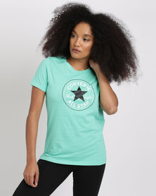 Converse Core Solid Chuck Patch Crew Mint Green