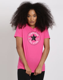 Converse Core Solid Chuck Patch Crew Pink