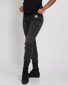 Converse Shield Lycra Pant Black Marle