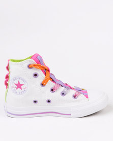 Converse Chuck Taylor Loopholes Energy Hi Top Sneaker White