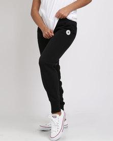 Converse Core Signature Pants Black
