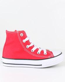 Converse Chuck Taylor All Star Hi Top Sneaker Red