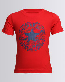 Converse Seasonal Chuck Fill Tee Red