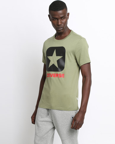 Converse Core Boxstar Tee Fatigue