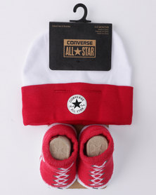 Converse CTP 2 Pack Gift Set Red