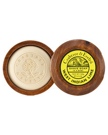 Crabtree & Evelyn West Indian Lime Shave Soap In Bowl