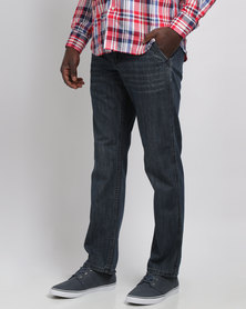 Crockett & Jones Slant Pocket Denim Jeans Blue