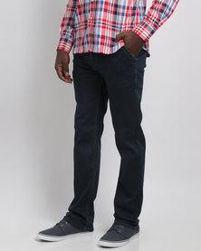 Crockett & Jones Stretch Denim Jeans Blue/Black