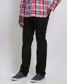 Crockett & Jones 5 Pocket Denim Jeans Black