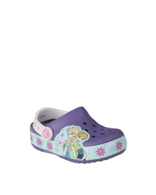 Crocs Lights Frozen Fever Clog K Blue Violet