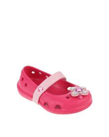 Crocs Keeley Springtime Flat Pink