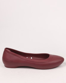 Crocs Lina Flat Purple