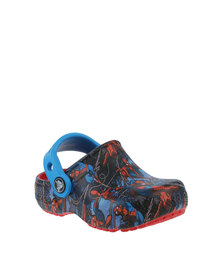 Crocs Fun Lab Spiderman K Shoes Flame Red