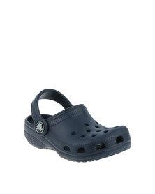 Crocs Classic Flip K Shoe Navy