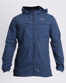 Crosshatch Mithy Hooded Jacket Dark Denim