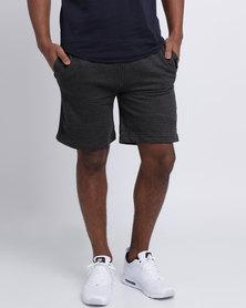 Crosshatch Conserve Shorts Charcoal Marl
