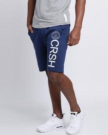 Crosshatch Janter Shorts Estate Blue