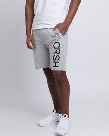 Crosshatch Janter Shorts Grey Marl