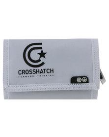 Crosshatch Vaults CH Star Logo Wallet White