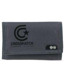 Crosshatch Vaults CH Star Logo Wallet Grey