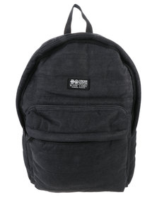 Crosshatch Bolster CH Quilted Backpack Black