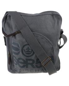 Crosshatch Gallosson CH Canvas Bag Grey