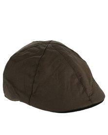 Crosshatch Barber Mens Hat Green