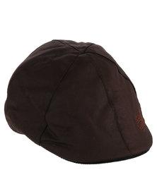 Crosshatch Barber Mens Hat Brown