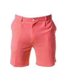 Custom Apparel Golf 4-Way Stretch Shorts Peach