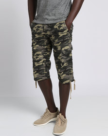 Cutty Riles Cargo Short Fatique