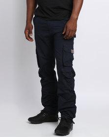 Cutty Tank Cargo Pants Blue